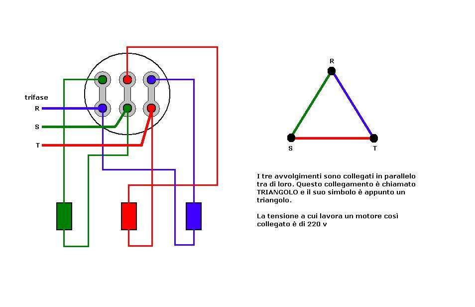Schema Collegamento Open Collector : Schema collegamento stella triangolo fare di una mosca