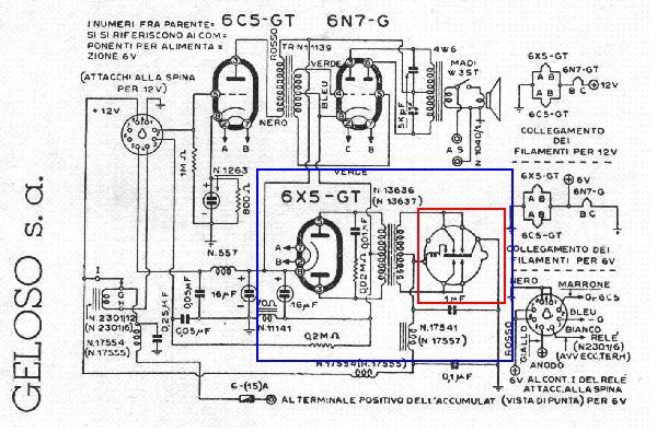 Schema preamplificatore microfonico a valvole
