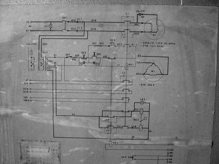Schema Elettrico Motore Serranda : Monofase al posto di trifase proiezionisti