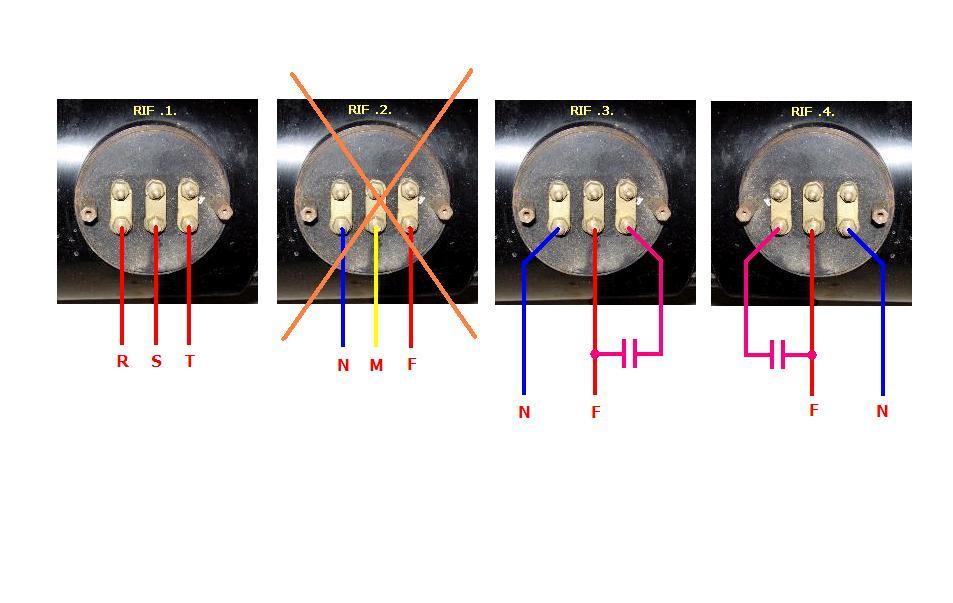 Schema Collegamento Condensatore Motore Monofase : Schema cinemeccanica victoria iv b proiezionisti